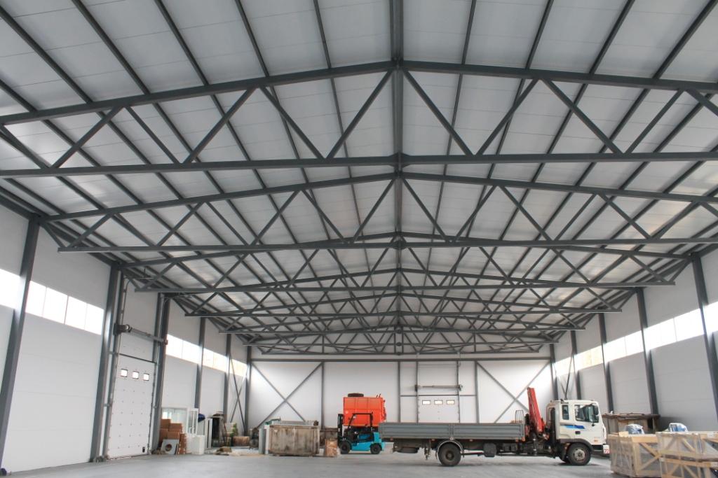 Ангары, склады, металлоконструкции